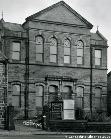 Wesleyan Methodist Church, Edenfield